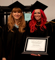 Graphic Design Professor Joanne Jagodowski and Brittany Brothers