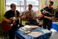Vice President Kim Keegan and CAPS Director Major Wheelock jamming with Nicole
