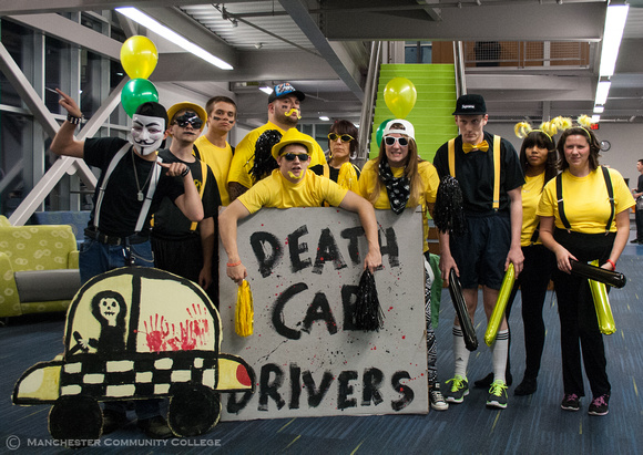 "Our Campus Activities Board team ""Death CAB Drivers"""